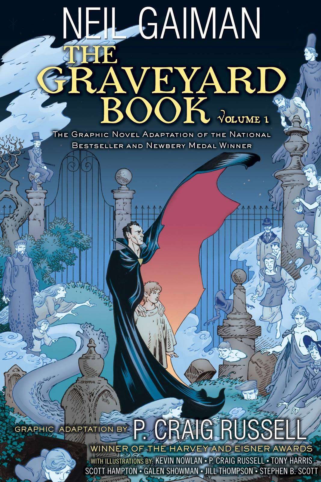 The Graveyard Book Graphic Novel: Volume 1 by Neil Gaiman & P. Craig Russell