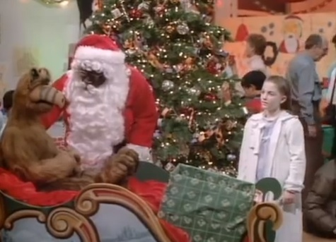 Alf, Santa, and Tiffany