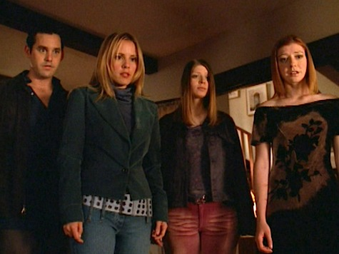 Buffy the Vampire Slayer, After Life, Xander, Anya, Willow Tara
