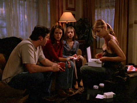 Buffy the Vampire Slayer, Beneath You, Xander, Dawn, Nancy