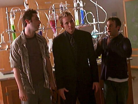 Buffy the Vampire Slayer, Storyteller, Andrew, Warren, Jonathan