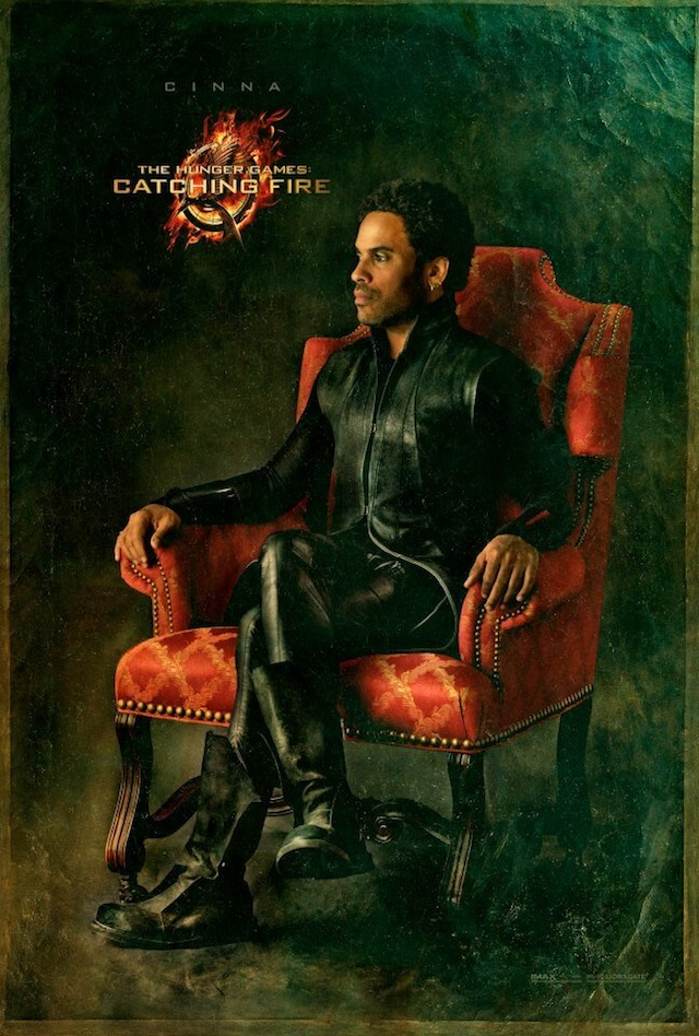 Capitol Portraits Catching Fire Cinna