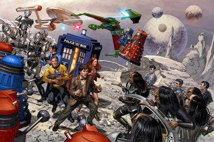 Doctor Who/Star Trek crossover by Rainer Beredo