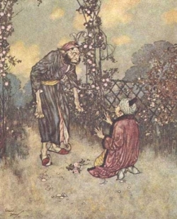 Edmund Dulac - Beauty and The Beast