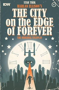 The City on the Edge of Forever Star Trek Harlan Ellison comic