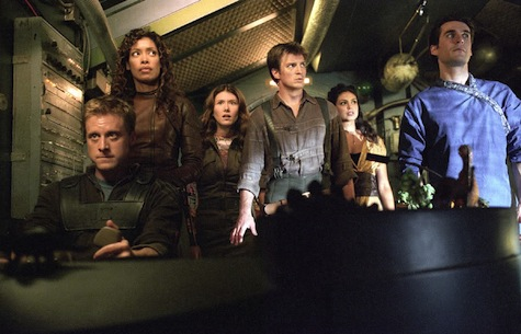 Firefly, Mal, Zoe, Wash, Kaylee, Simon, Inara