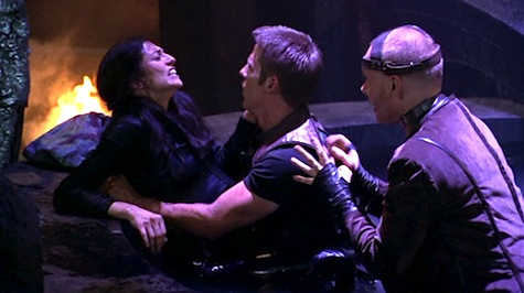 Farscape: The Peacekeeper Wars, Crichton, Aeryn, Stark