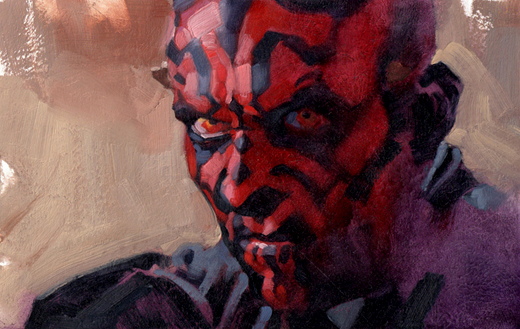 Darth Maul by Gregory Manchess