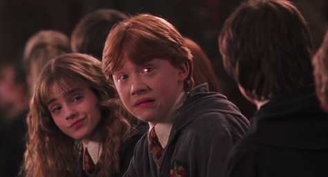 Harry Potter and the Chamber of Secrets film, Harry, Ron, Hermione