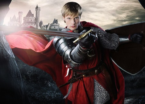 Arthur from BBC's Merlin. Look at that fancy cape.