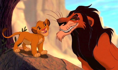 The Lion King, Scar and Simba