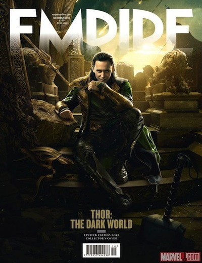 Loki, Tom Hiddleston, Emprie cover