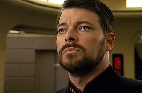 Star Trek: The Next Generation, The Best of Both Worlds, Riker