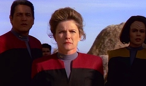 Star Trek Voyager, Janeway, Chakotay