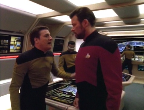 Star Trek: The Next Generation Season 5, Episode 12 Violations