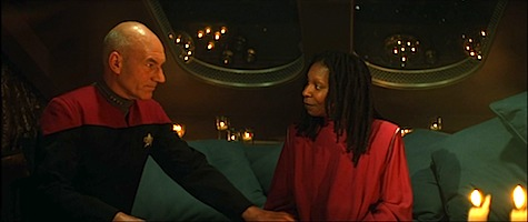 Star Trek Generations, Picard, Guinan