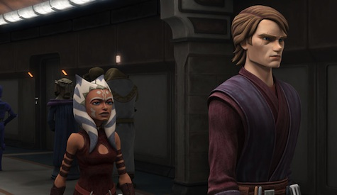 Star Wars, The Clones Wars, Ahsoka, Anakin