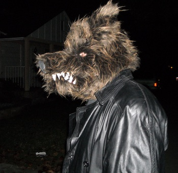 Jason as a werewolf