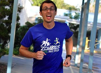 Zombie fast food t-shirt at Tor.com Urban Fantasy