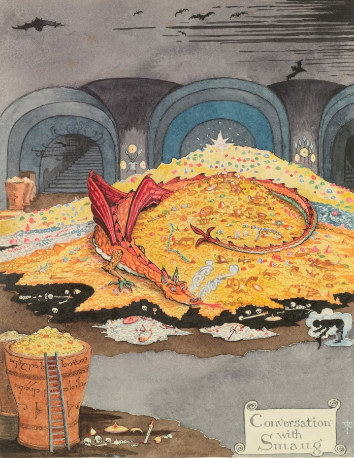 Tolkien's Smaug