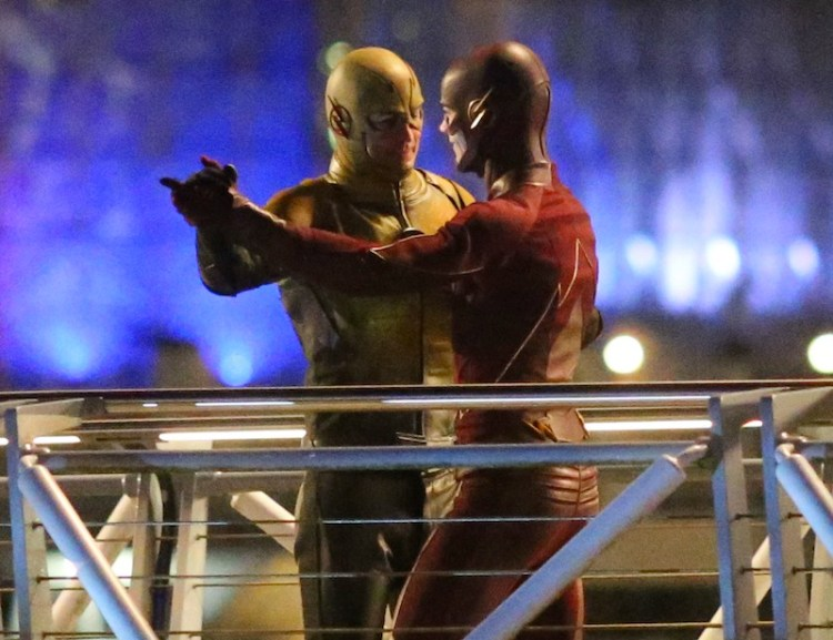 Flash Reverse Flash Dancing Flash And Reverse Flash