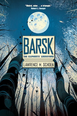 Barsk: The Elephants' Graveyard book cover