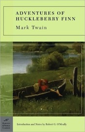 the vague ending in the adventures of huckleberry finn a novel by mark twain Before we discuss whether or not mark twain's huckleberry finn has a sense of  moral closure, we need to discuss whether mark twain intended for his book to.