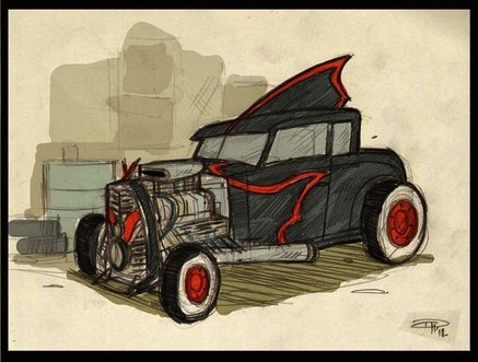 batmobile-hotrod