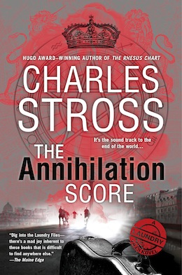 Mo's Turn: The Annihilation Score by Charles Stross