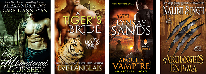 Fiction Affliction: September Releases in Paranormal Romance