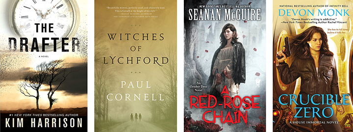 Fiction Affliction: September Releases in Urban Fantasy and Horror