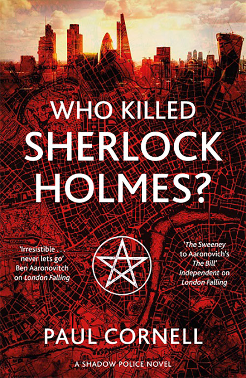 Who Killed Sherlock Holmes Paul Cornell UK cover