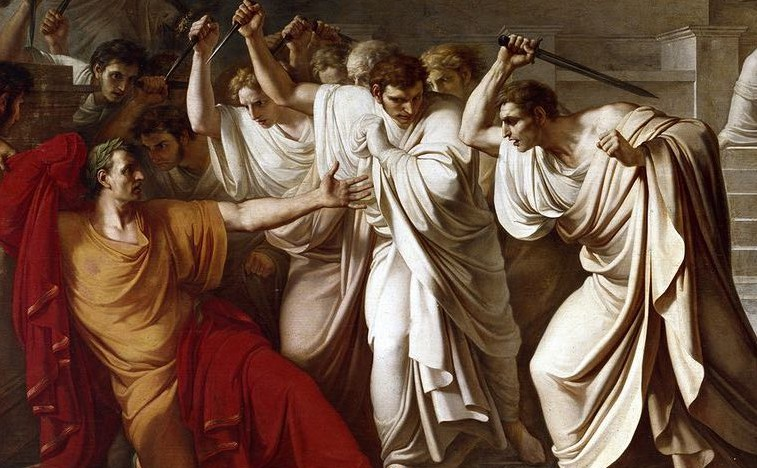 the assassination of caesar in the tragedy of julius caesar by william shakespeare Julius caesar william shakespeare table of contents play watch the julius caesar video sparknote read the translation plot overview summary.