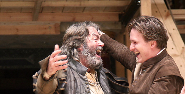 Roger Allam and Jamie Parker