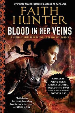 Faith Hunter Blood in Her Veins sweepstakes