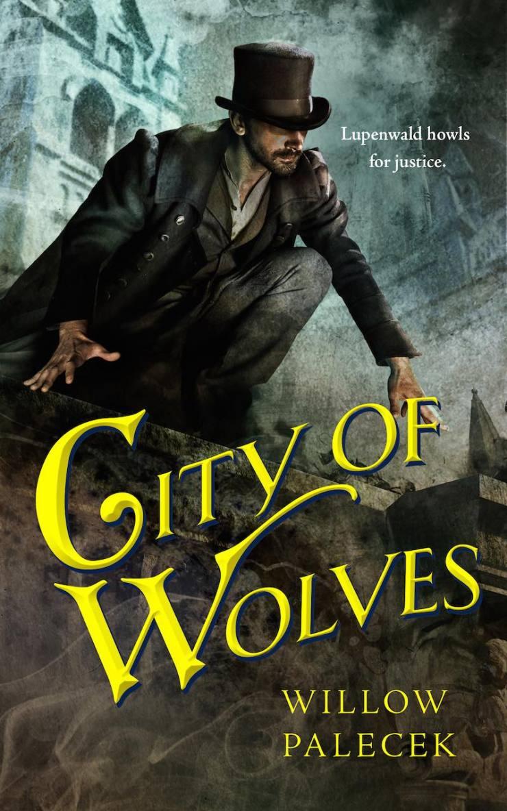 City of Wolves Tor.com Publishing cover art