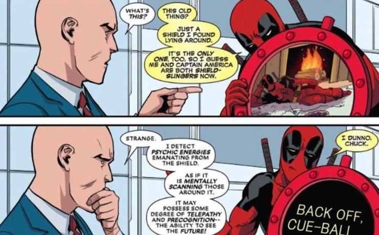 Deadpool and Professor X
