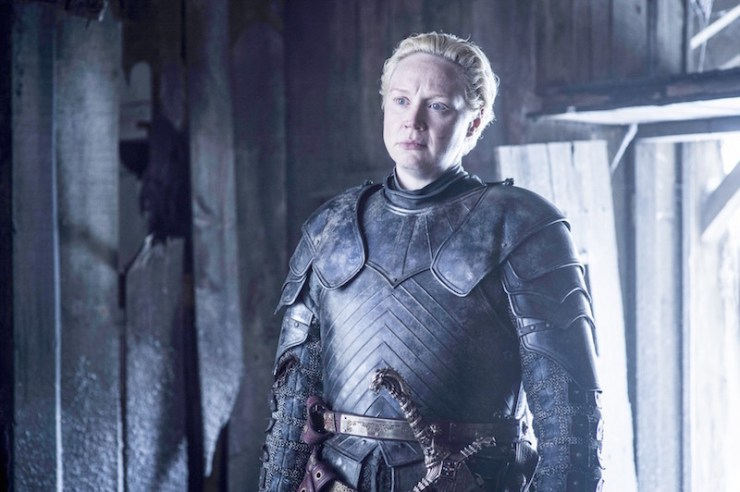 Game of Thrones season 6 photos Brienne of Tarth