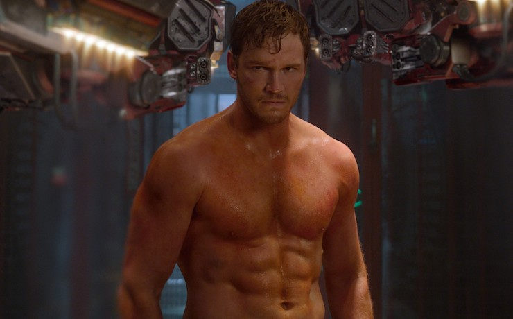 Chris Pratt, Peter Quill, Guardian of the Galaxy