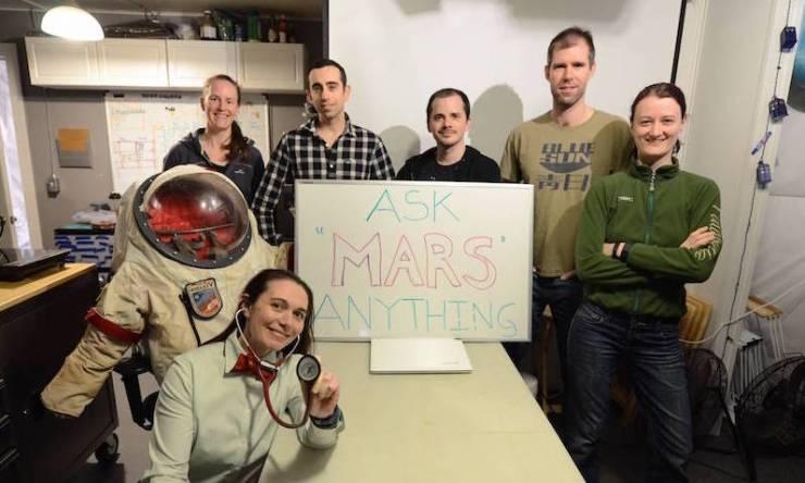 HI-SEAS NASA crew Hawaii simulation Mars