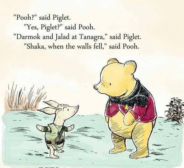 Winnie the Pooh Darmok mash-up