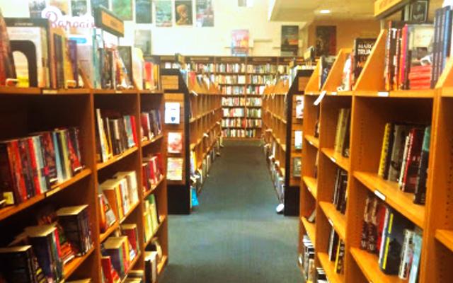 Third Place Books book aisle