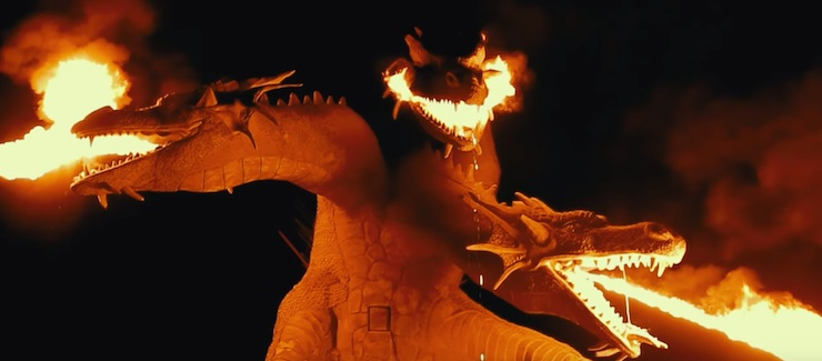 Safari Park Kudykin Mountain, dragon statue