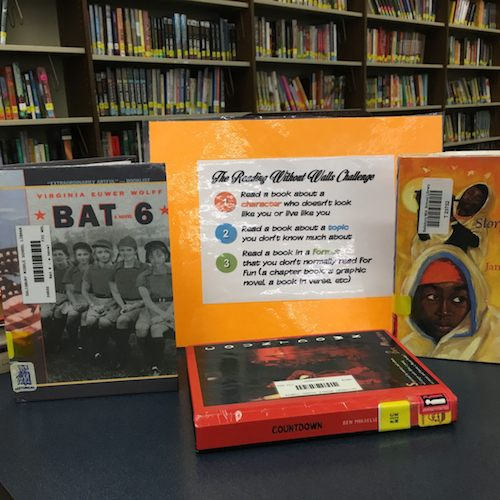 Salisbury Library, MS, Reading Without Walls Challenge, Gene Yuen Lang