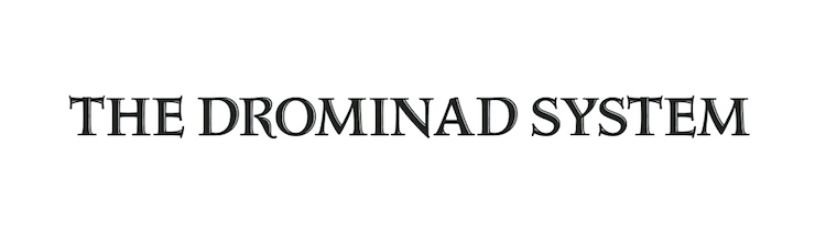The Drominad System Arcanum title