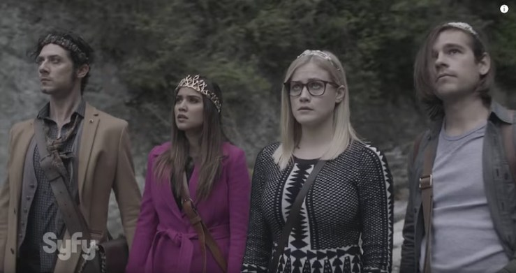 The Magicians season 2 trailer kings queens Fillory Narnia Game of Thrones