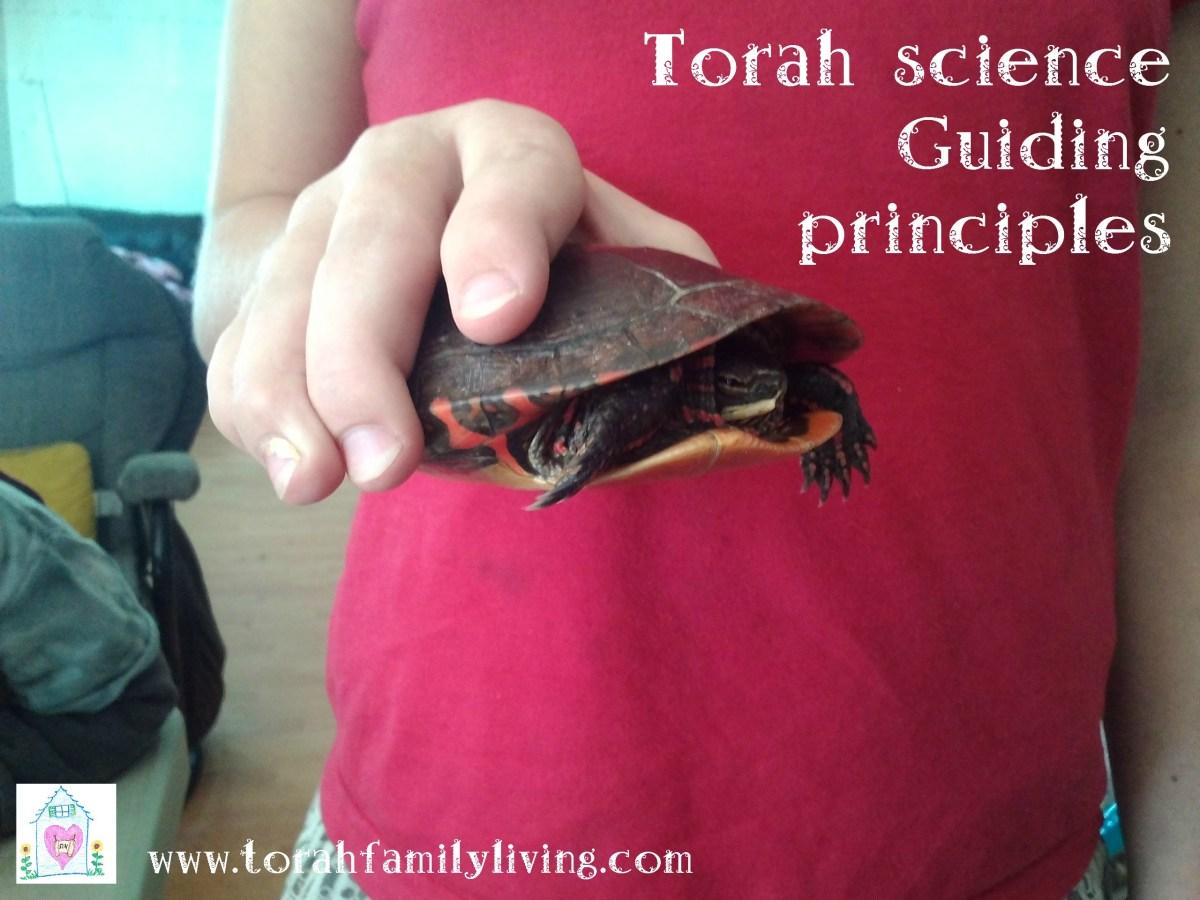 Torah science - guiding principles