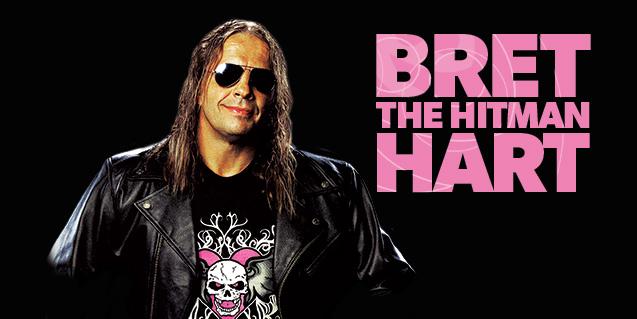 """Bret """"The Hitman"""" Hart"""