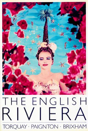 English riviera poster rose