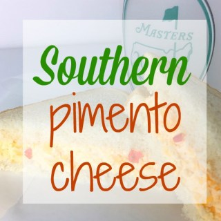 Southern Pimento Cheese...just like at the Masters!